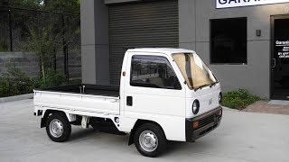 1990 Honda Acty SDX Pick Up Flat Bed Kei Mini Truck