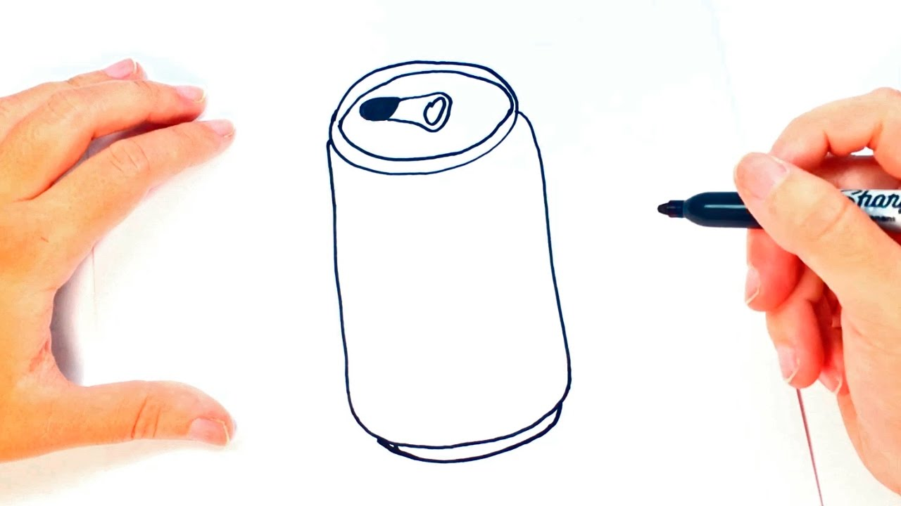 How to draw a can of soda can of soda easy draw tutorial for Website where you can draw