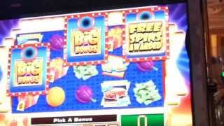 HIGH LIMIT $1 Press Your Luck Slot Machine Dollar Denom Video Slot Bonus FREE SPINS
