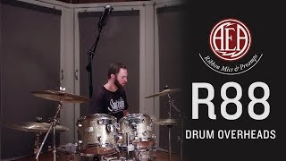 AEA R88 Stereo Mic - Drum Overheads - Listening Library