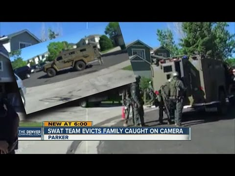 SWAT team serves eviction notice in Parker after resident makes threats to law enforcement