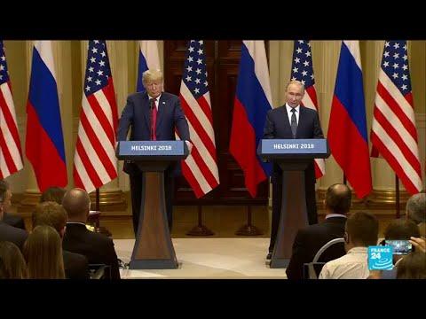 REPLAY - Sommet Trump-Poutine à Helsinki