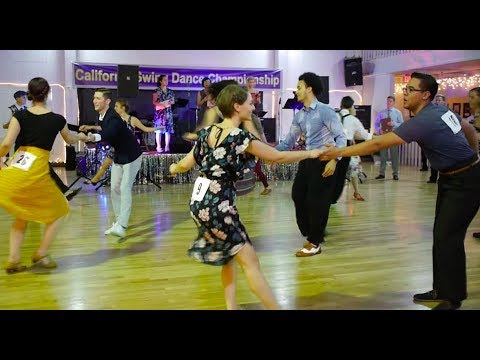 Lindy Hop Mix and Match Finals, California Swing Dance Championships 2017
