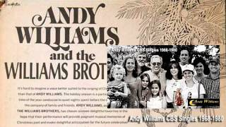 andy williams-27 CBS singles 1967-1980