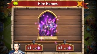 I Felt Like A Psychic IN This BEAUTIFUL Rolling Session Castle Clash