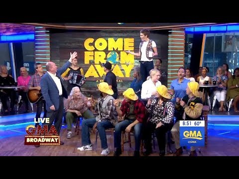 Cast From 'Come From Away'  (GMA LIVE)