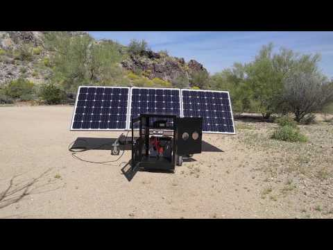 Grid Eraser Portable Solar Systems - Made in the U.S.A.