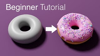 Blender Beginner Tutorial - Part 1
