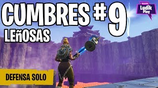 DEFENSE ESCUDO CUMBRES 9 ONLY ? FORTNITE SAVE THE WORLD Spanish Gameplay