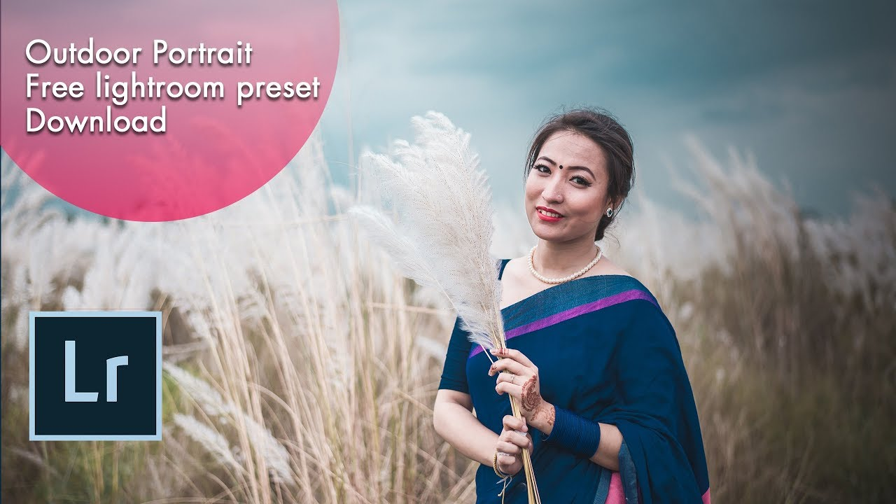 Lightroom cc free preset-Outdoor Portrait Free lightroom preset download