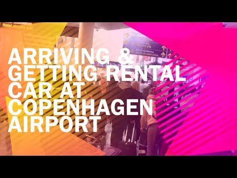 Copenhagen Rental Car - Getting your car at the airport (1.2 min)