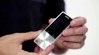 New at IFA:  Walkman® NWZ-A17 Hi-Res Audio Digital Music Player