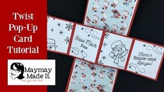 Twist Pop Up Card Super Easy