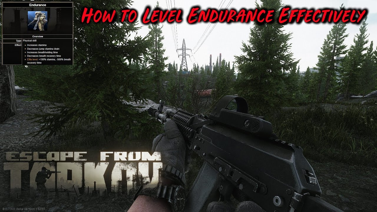 How to Level Endurance - Escape from Tarkov Skill Guide