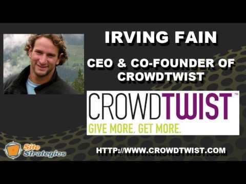 Interview with Irving Fain CEO of CrowdTwist | Edge of the Web Radio SEO Podcast