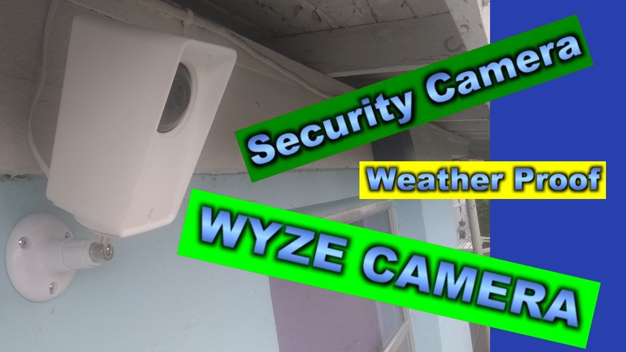 DIY Security Camera for outside from WYZE Cam 👍
