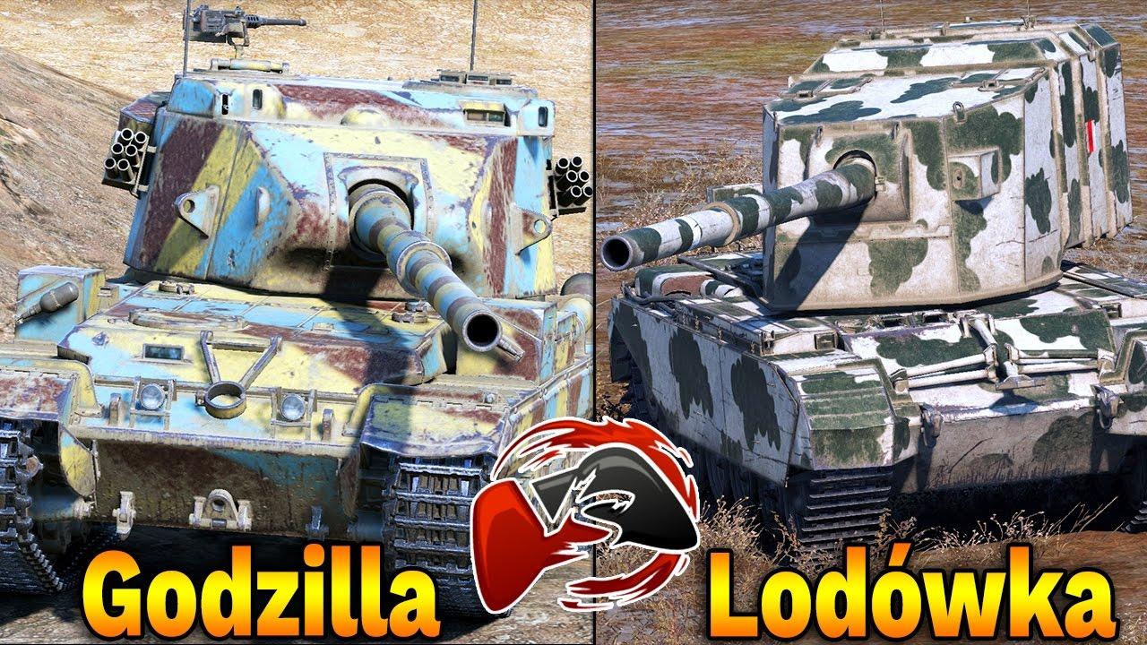 LODÓWKA vs GODZILLA – World of Tanks