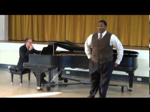Dedrian Hogan Senior Recital (English Set)