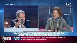 """Européennes: """"Place publique"""" en campagne pour tenter de rassembler la gauche"""