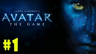 James Cameron's Avatar - Walkthrough - Part 1 - Hell's Gate (PC HD) [1080p60FPS]
