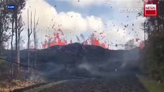 Hawaii's Kilauea volcano magma  re post