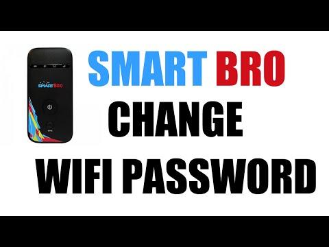 How To Change Smart Bro Pocket Wifi Password