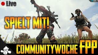 🔴 Playerunknown's Battlegrounds 🐔 | Communitywoche #2 - !CW | Deutsch / German | Live #462