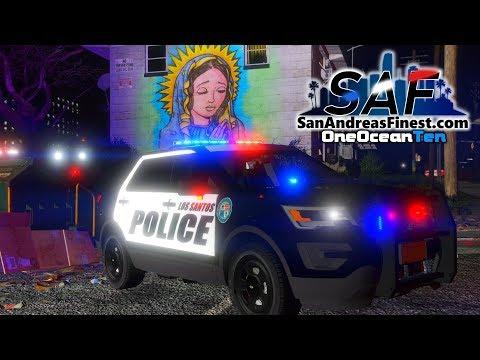 SA'F #173 - Gangland Shooting! | GTA V RP