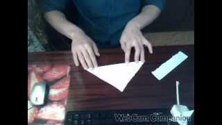 тюльпан своими руками(Здравствуйте! В этом видео я покажу как с делать тюльпан из обычной бумаги, своими руками., 2014-06-01T15:02:34.000Z)
