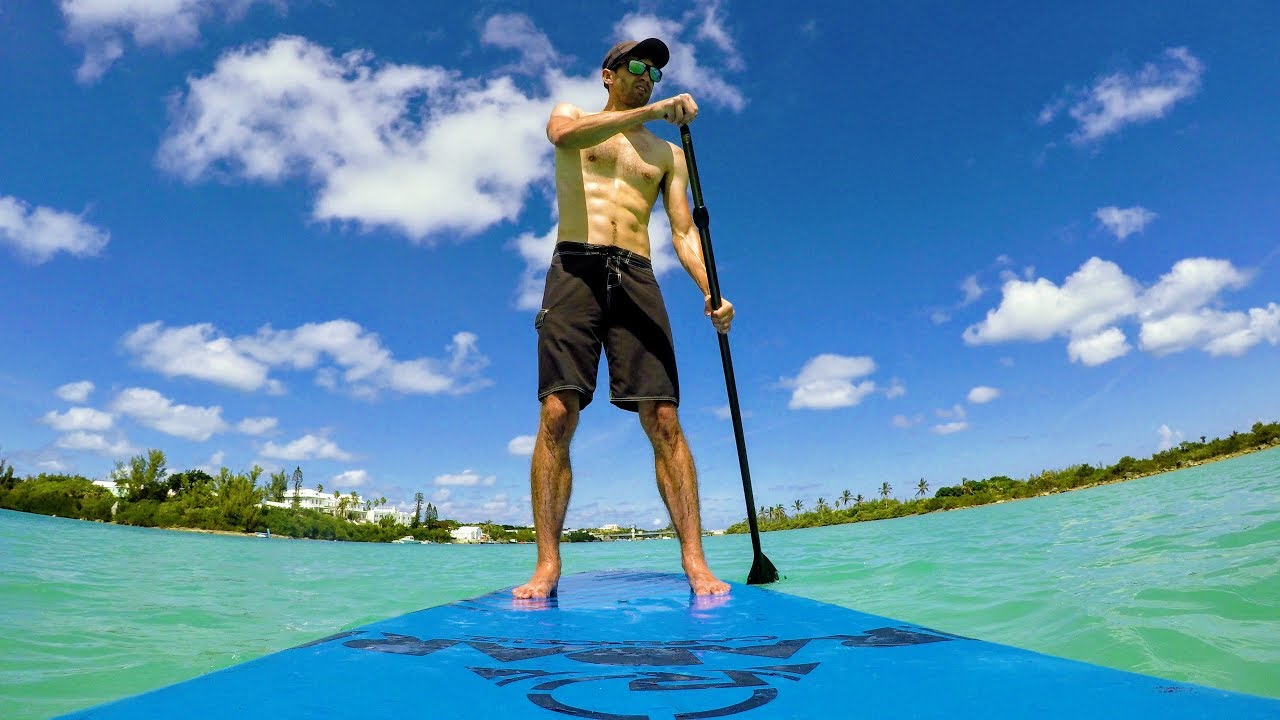 And Up Down Bermuda In Sit Paddle Boarding Stand wOXn08kP