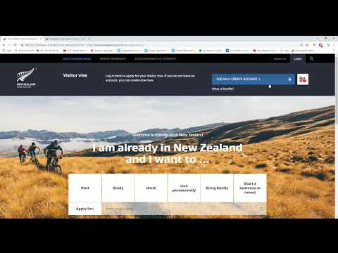 Applying For New Zealand Visa Online
