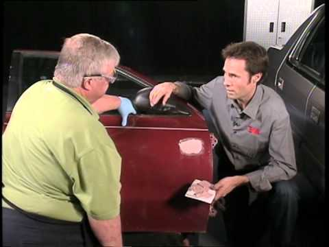 How To Repair Dent - Bondo
