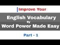 Word Power Made EasySeries For Vocabulary Improvement