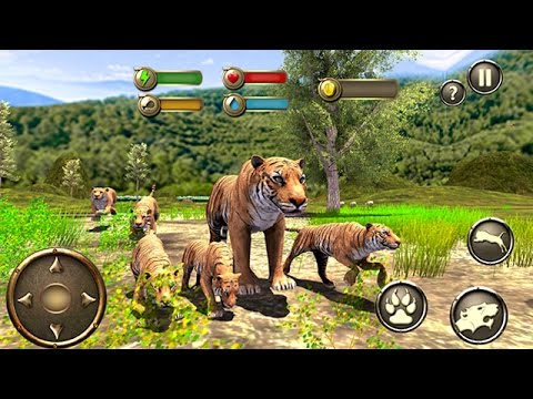 Wild Tiger Survival Simulator (by Vital Games Production) Android Gameplay [HD]