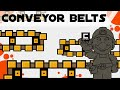 Tips, Tricks and Ideas with Conveyor Belts in Super Mario Maker