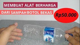 ide kreatif!!! sampah Botol Bekas Menjadi Barang Yang Sangat Berguna dan bermanfaat