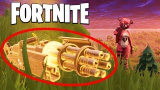Win... but we can only use the FIRST GUN we find (Fortnite)