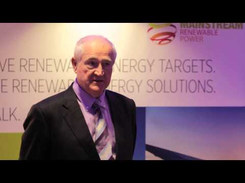 Instability affects everyone - Eddie O'connor, Mainstream Renewable Power