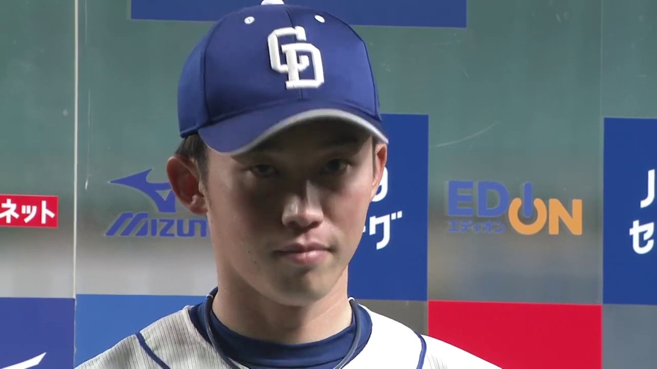 7/2 阪神戦 ヒーローインタビュー 岡野祐一郎投手