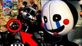 THE PUPPETS BODY FOUND INSIDE OF A SECRET ANIMATRONIC! || Five Nights at Freddys 6 (EASTER EGG)