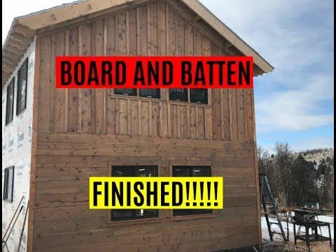 182 Board And Batten Siding Installed Rustic Doug Fir