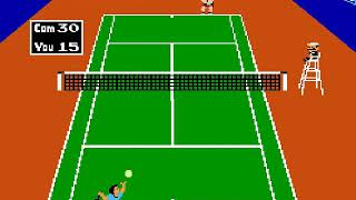 Tennis Japan, USA mp4 HYPERSPIN NES NINTENDO N E S  NOT MINE VIDEOS