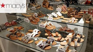 SHOE SHOPPING * MACY'S SUMMER SHOE TRENDS * SHOP WITH MAY 2019