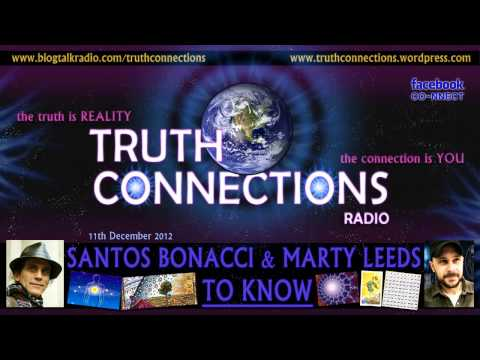 Santos Bonacci and Marty Leeds: To Know - Truth Connections Radio