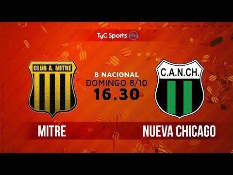 Primera B Nacional: Mitre vs. Nueva Chicago | #BNacionalenTyC