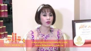 Phỏng vấn Hoa hậu Bích Liên với dược mỹ phẩm BL Miracle trị nám da hiệu quả nhất