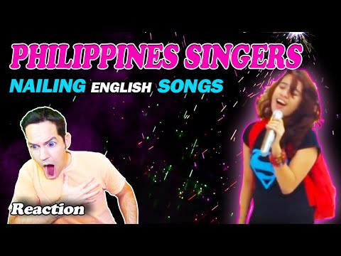 """PHILIPPINE SINGERS NAILING ENGLISH SONGS"" (Part 2) - Reaction"