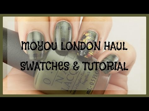 Haul & Tutorial | Moyou London Trend Hunter Collection & More