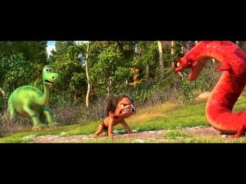 The good dinosaur ตัวอย่างการ์ตูนใหม่