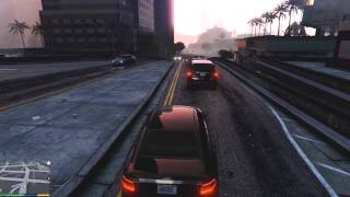 GTA 5 ONLINESHORT DRIVE AROUND HD 1400P!!!!with K of G^^